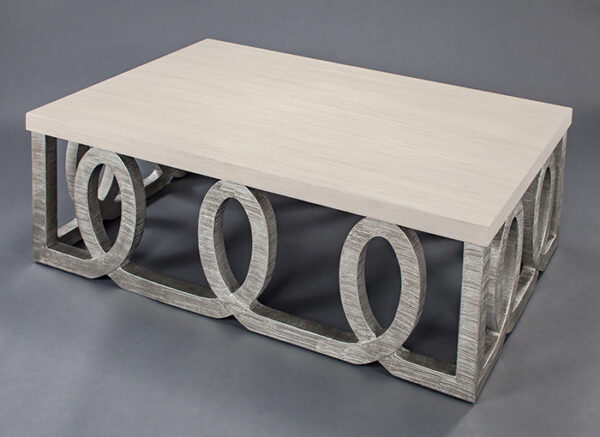 Artmax 56in Wood Coffee Table