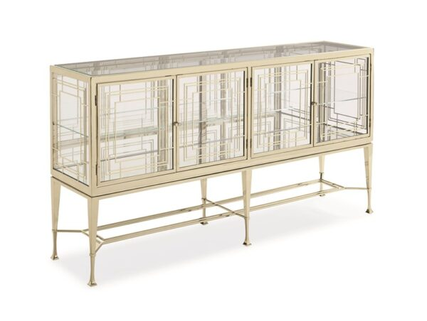 Caracole Worth Its Weight In Gold Console