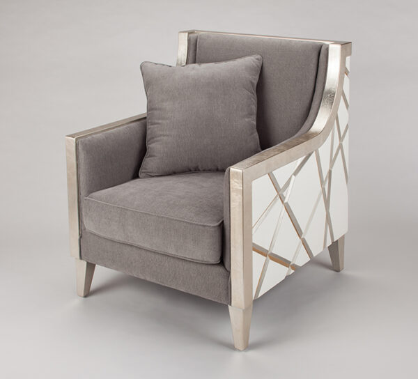 Artmax Champagne Upholstery Chair