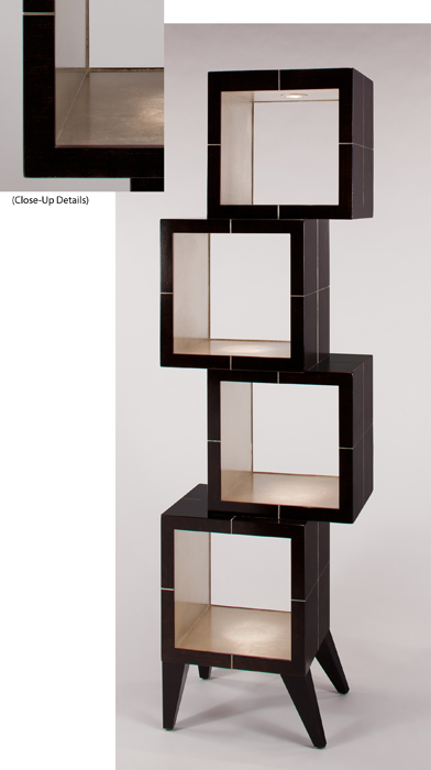 Artmax Coffee Brown Etagere