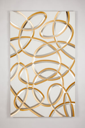 Artmax Gold and Silver Wall Art