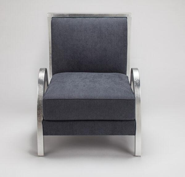 Artmax Grayish Blue Upholstery Chair