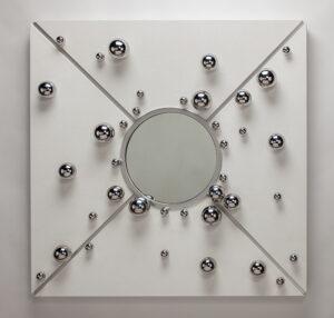 Artmax Steel Spheres Wall Art