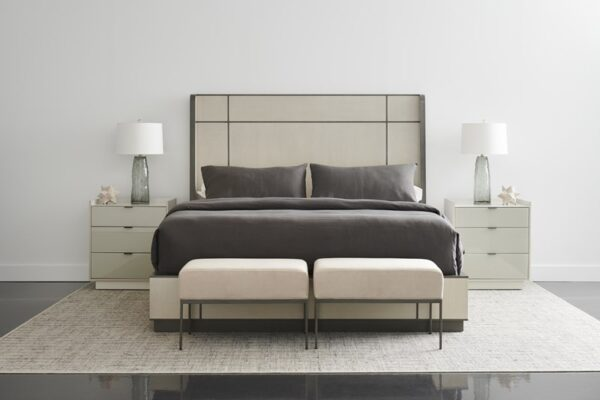 Caracole Repetition Wood Bed