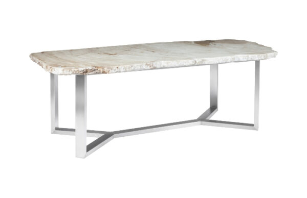 White Onyx Dining Table