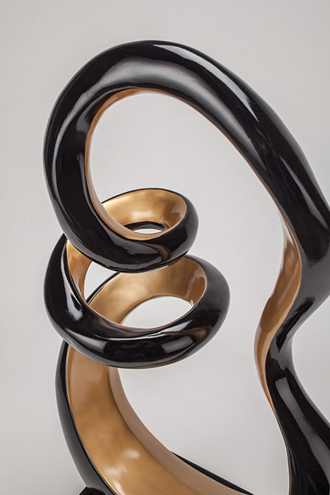 Artmax Black Gold Sculpture