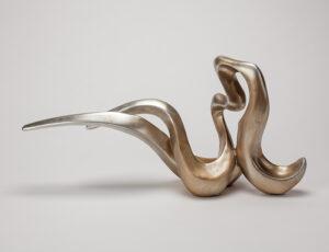Artmax Champagne Silver Sculpture