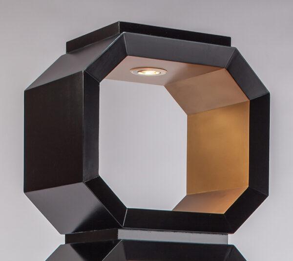 Artmax Furniture 2706-C1 Etagere black