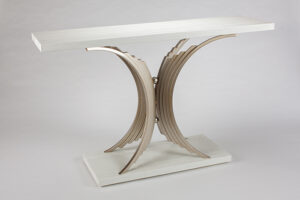 Artmax Ivory Console Table