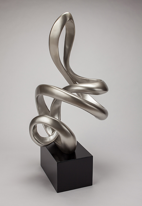Artmax Silverleaf Black Sculpture