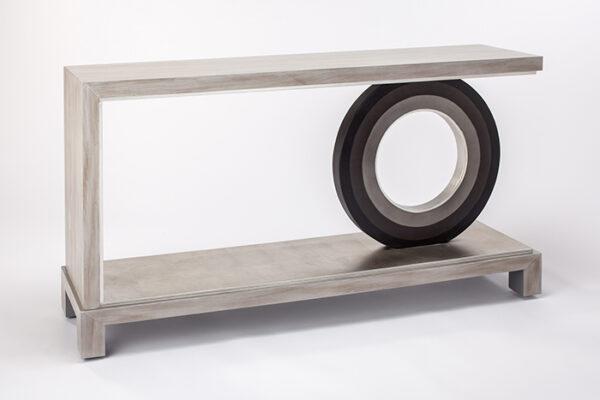 Artmax Smokey Vanila Console Table