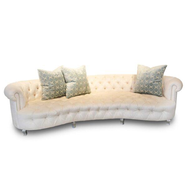 Haute House Audrey Velvet Sofa