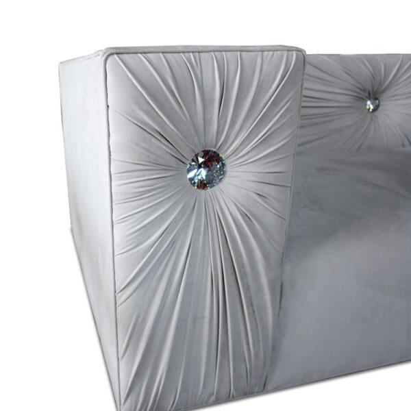 Haute House Bling Silver Sofa