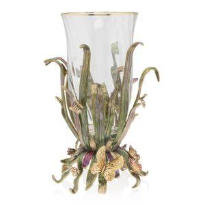 Jay Strongwater Elva Butterfly Vase