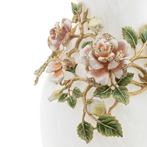 Jay Strongwater Gabrielle Rose Vase