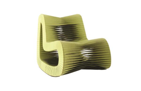 Seat Belt Rocking Chair Green