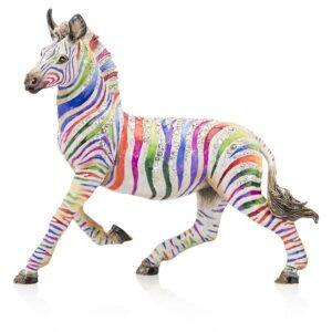 Jay Strongwater Ansel Zebra Figurine
