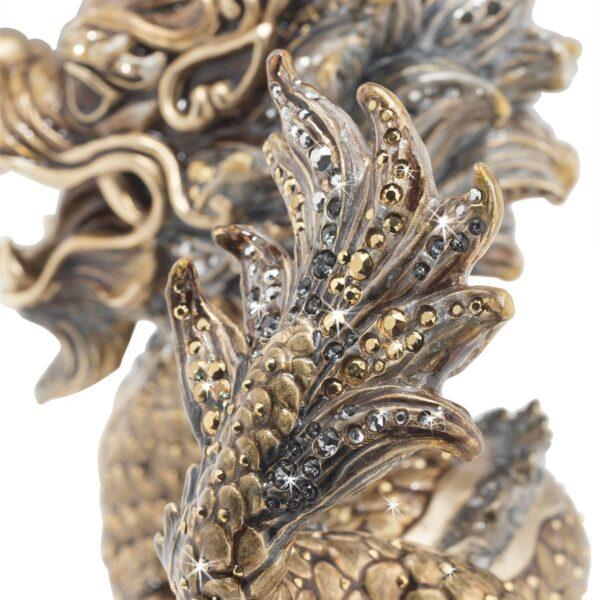 Jay Strongwater Apalala Dragon Figurine