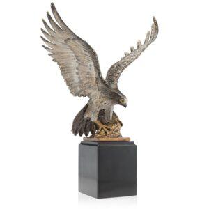 Jay Strongwater Baldwin Falcon Figurine