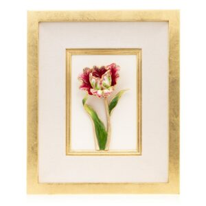 Jay Strongwater Brooke Tulip Wall Art