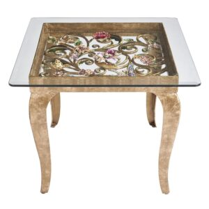 Jay Strongwater Josephine Side Table