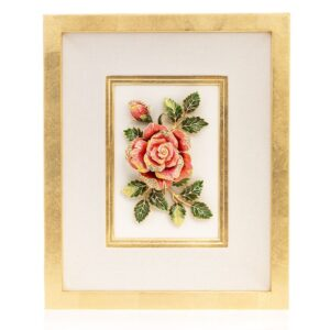 Jay Strongwater Sibylla Rose Wall Art