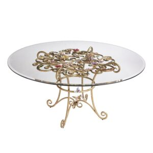 Jay Strongwater Sophia Flora Dining Table