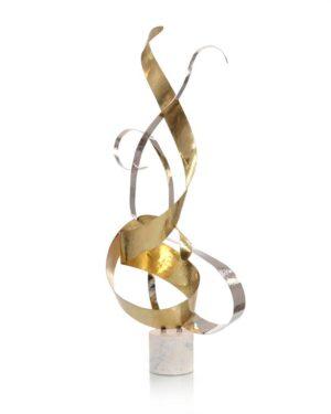 John Richard Dancing Swirls Sculpture