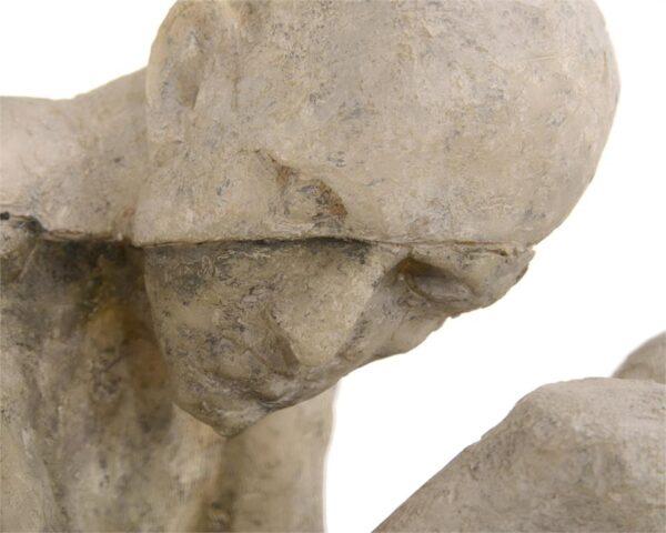 John Richard Man Cast In Time Sculpture