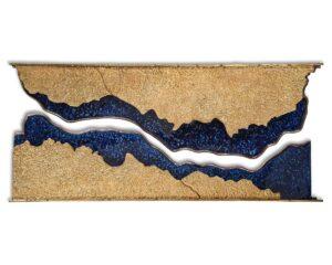 John Richard Sand Sea Wall Sculpture