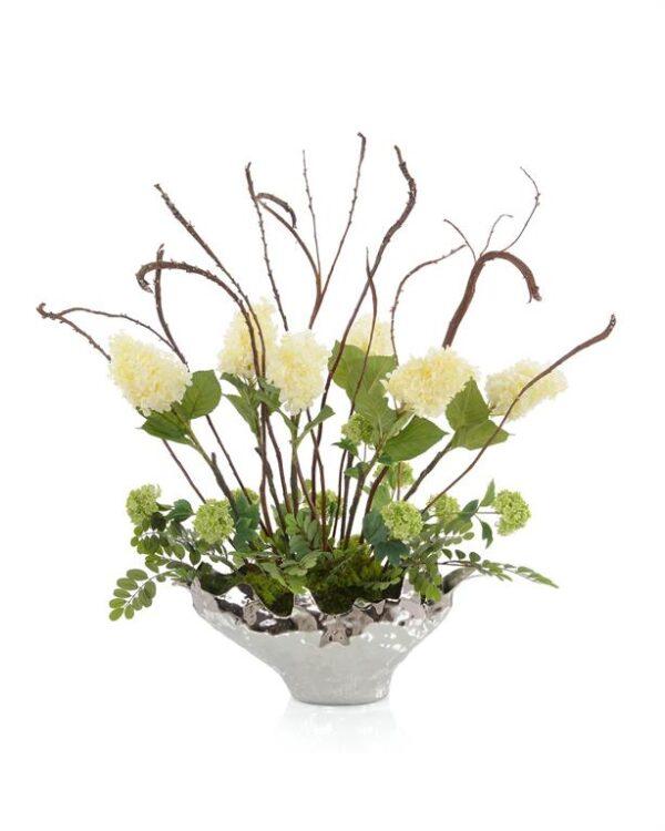 John Richard Silver Shadow Flowers