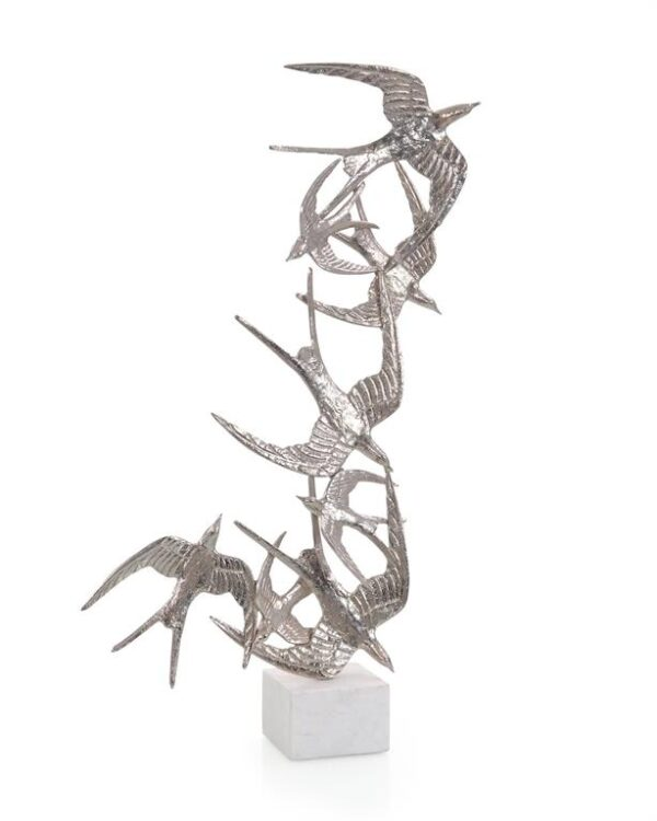 John Richard Swallows Flight Sculpture