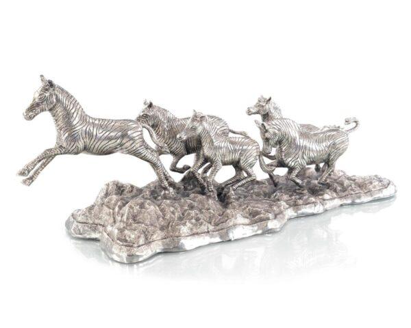 John Richard Zebras Sculpture