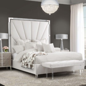 Lanterna Channel-Tufted Bed