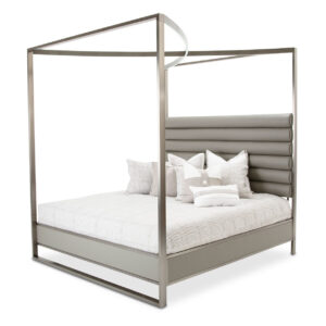 Metro Lights Canopy Bed