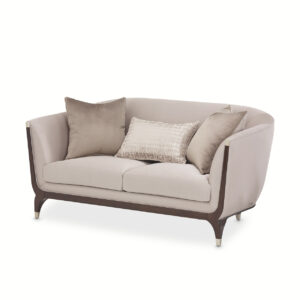 Paris Chic Loveseat Espresso