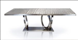 Metall Furniture Athens Dining Table