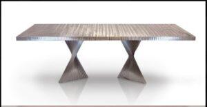 Metall Furniture Bali Dining Table