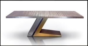 Metall Furniture Florence Dining Table