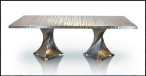 Metall Furniture London Dining Table