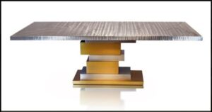 Metall Furniture Rome Dining Table