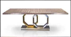 Metall Furniture Venice Dining Table