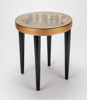 Artmax Golden End Table