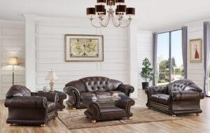 ESF Apolo Brown Living Room Set