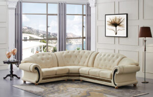 ESF Apolo Ivory Sectional