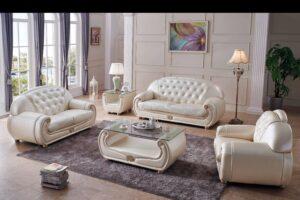 ESF Giza Beige Living Room Set