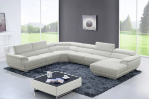 ESF 430 White Sectional