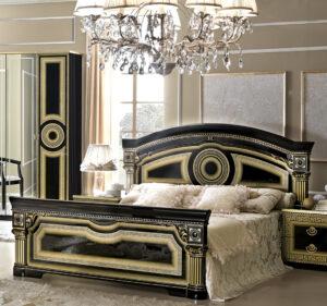 ESF Aida Black Bedroom Collection