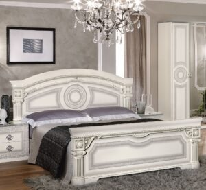 ESF Aida White Bedroom Collection