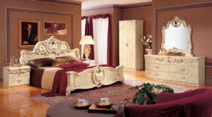 ESF Barocco Ivory Bedroom Collection